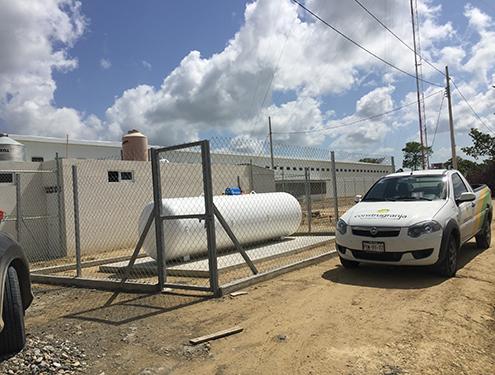 Subestación de gas